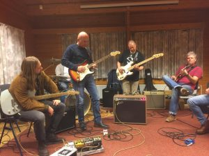 Guitar Bootcamp - Blues en Blues-Rock weekend - Les van Leif de Leeuw
