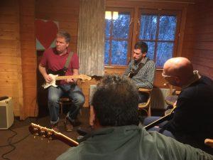 Workshops en events - Blues en Blues-Rock weekend - Les van Maarten Pors
