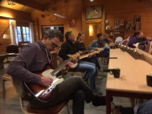 Guitar Bootcamp - Blues en Blues-Rock weekend - Warming-up